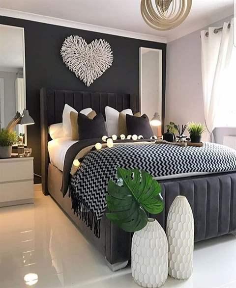 بالصور ... كيف تُدخل اجواء الطبيعة الى غرفة النوم من خلال النباتات