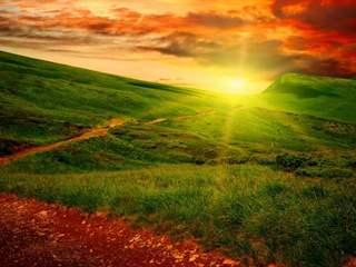 تفسير رؤية شروق الشمس في المنام أو الحلم